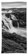 Dunseverick Waterfall Beach Towel