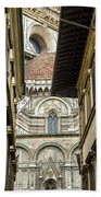 Duomo In Firenze Beach Towel