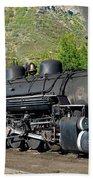Durango To Silverton Train Beach Towel