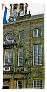 Dutch Architecture Of The Golden Age For Town Hall In Enkhuizen- Beach Towel