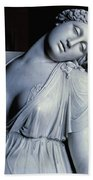 Dying Lucretia  Beach Towel