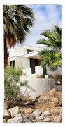 E. Stewart Williams Home Palm Springs Beach Towel