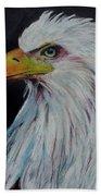 Eagle Eye Beach Towel by Jeanne Fischer