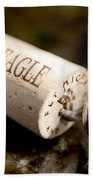 Eagle Uncorked  Beach Towel