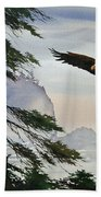 Eagle Wilderness Beach Towel
