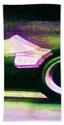 Early 60's F1 Racer Beach Towel