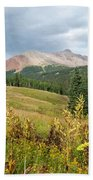 Early Autumn In The San Juans -  Mount Wilson And Wilson Peak Beach Towel