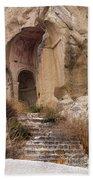 Early Christian Monastery  Beach Towel