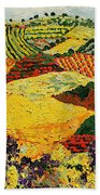 Early Clouds Beach Towel