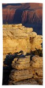Early Light In The Canyon Beach Towel