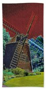 Early Morning At The Mill Beach Towel