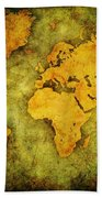 Earth And Brine Beach Towel