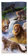 Earth Day 2013 Poster Beach Towel