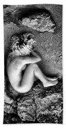 Earth Is My Birth Beach Towel by Stelios Kleanthous