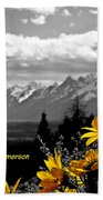 Earth Laughs In Flowers Beach Towel