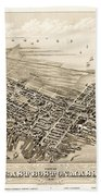 East Boston 1879 Beach Towel