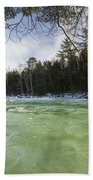East Branch Of The Pemigewasset River - Lincoln New Hampshire Usa Beach Towel