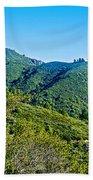 East Peak Of Mount Tamalpias-california Beach Towel