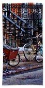 East Village Bicycles Beach Towel