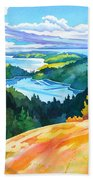 Easter Bluff View Beach Towel