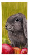 Easter Bunny Beach Towel