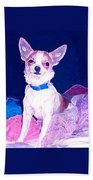 Easter Chachi Beach Towel