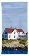 Eastern Point Lighthouse Beach Towel