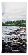 Eastern Shore Of Maui Beach Towel
