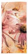 Echinacea Impressions  Beach Towel