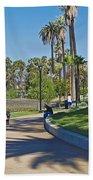 Echo Park Los Angeles Beach Towel