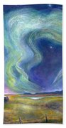 Echoes In The Sky Beach Towel