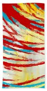 Eclectic Rays  Beach Towel