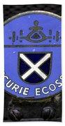 Ecurie Ecosse Badge Beach Towel