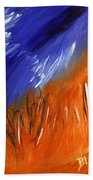 Edge Of Autumn Beach Towel