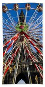 Edinburgh's Christmas Ferris Wheel Beach Towel