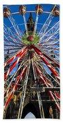 Edinburgh's Christmas Ferris Wheel Beach Sheet