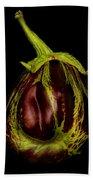 Eggplant From Jennifers' Garden Beach Towel