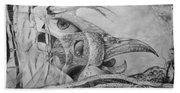 Ego-bird-fish Nesting Ground Beach Towel
