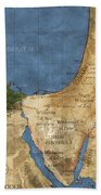 Egypt And The Holy Land Beach Towel
