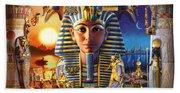Egyptian Treasures II Beach Towel
