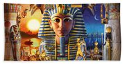 Egyptian Treasures II Beach Sheet
