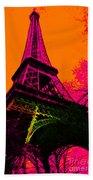 Eiffel 20130115v1 Beach Towel