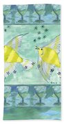 Eight Of Cups Beach Towel