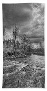 Eighteenmile Creek 1835b Beach Towel