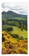 Eildon Hill - Three Peaks And A Valley Beach Towel