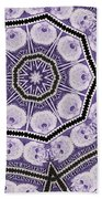 Einstein Mandala Beach Towel