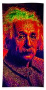 Einstein - Pop Art Beach Towel