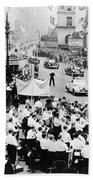 Eisenhower Victory Parade Beach Sheet