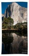 El Capitan In Yosemite 2 Beach Towel