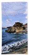 El Golfo Beach On Lanzarote Beach Towel